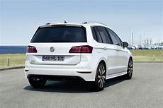 vw golf sportsvan gets an r line sporty upgrade