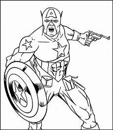 gambar kumpulan gambar captain america paud tk sd mi