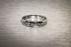 4000 wedding ring estate 4000 1ct diamond platinum wedding band ring ebay