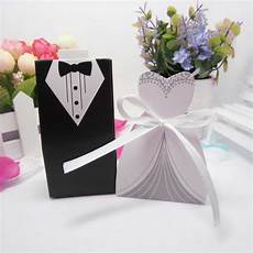 6pairs diy bridal gift cases groom tuxedo dress gown