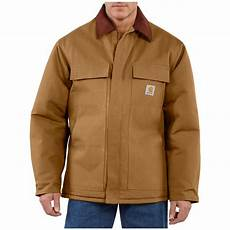 carhartt coats for clothes s carhartt 174 duck traditional coat 227115 insulated