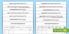guided reading planning templates teacher made