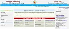 tnvelaivaaippu tn employment exchange online renewal
