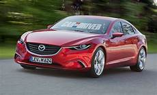 2014 Mazda 6 Sedan Rendered Detailed News Car And Driver