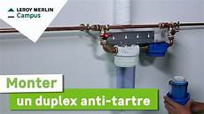 comment installer un filtre anti calcaire comment poser un duplex anti tartre leroy merlin