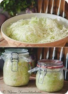 sauerkraut im glas selbstgemacht speisen