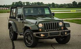 2016 Jeep Wrangler 75th Anniversary Edition Test – Review