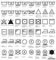 kleidung waschen symbole quot textilpflegesymbole waschen reinigen trocknen gl 228 tten quot stockfotos und lizenzfreie vektoren