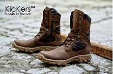 jual sepatu boots safety kickers delta safety brown di lapak e lectrone eross dhonny