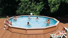 www pool de azteck pool rundformbecken holzpool komplettset sunday