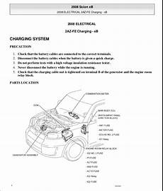 car repair manuals download 2012 scion xb user handbook 2008 scion xb owners manual pdf