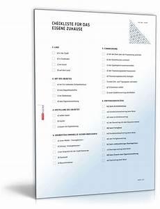 eigenes zuhause checkliste zum
