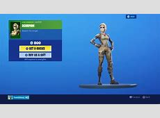 Fortnite Scorpion Wallpaper 69109 1920x1080px