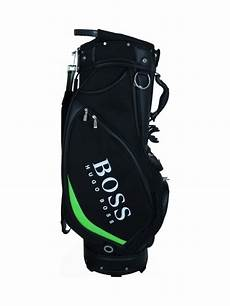 hugo green gioves golf pro tour bag in black