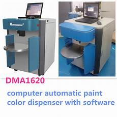computerized paint color tinting machine paint colorant mixing machine with color software