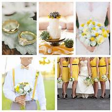 inspiration yellow white green wedding wedding