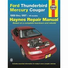 download car manuals 1989 ford thunderbird free book repair manuals haynes repair manual technical book 36086 read reviews on haynes 36086