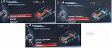 Bmw Adaptives Fahrwerk - fahrwerk und fahrerlebnisschalter