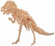 build your own dinosaur with this wooden construction kit slot the pieces together and