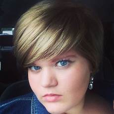 fat girls short hair yes hi i just wanted to say that i really love your make up en