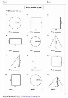 shapes areas worksheets 1036 tikz pgf geometry worksheets in tex stack exchange