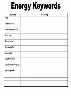 of energy resources worksheets by physics teacher