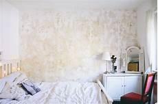 Diy Eine Wand Patinieren Wand Im Used Look Esszimmer