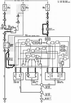What Is The Wiring Schematic For A 94 Camry Le Moonroof Switch