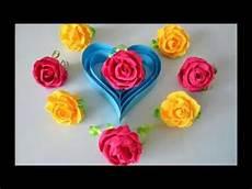 blumen aus servietten basteln diy aus servietten teil 1 roses from napkins part