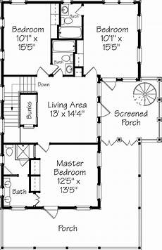 southern living coastal house plans shoreline lookout coastal living southern living house