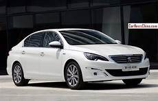 new peugeot 408 sedan is from all sides in china