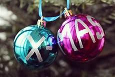 Weihnachtskugeln Bemalen Diy Geschenke