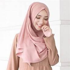 Jilbab Pashmina Bahan Ceruti Voal Motif