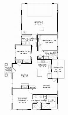 craftsman house plans one story one story craftsman bungalow house plans one story