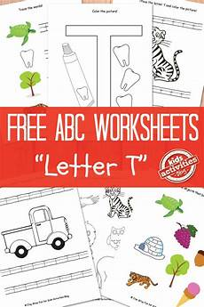 Letter T Worksheets Free Printable Activities