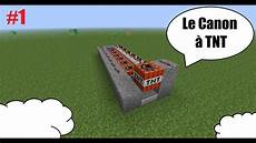 Tuto Redstone Minecraft 1 Le Canon 224 Tnt Simple
