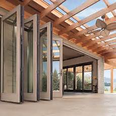 Falttore Garage by Seattle Stacking Glass Wall Systems Bifold Doors Bellevue
