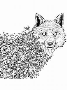 wolf 1 ausmalbilder f 252 r erwachsene