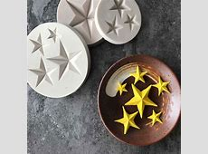 Hot Sale Five pointed Star Fondant Cake Silicone Mold DIY