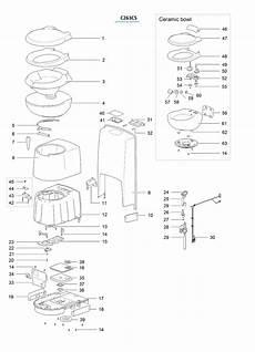 Caravansplus Spare Parts Diagram Thetford C263cs