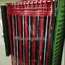 como hacer cortina con trapillo cortina de totora tiras lisas o con nuditos totora