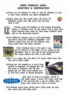 word problem worksheets year 6 11180 addition subtraction word problems ks2 year 5 teaching resources