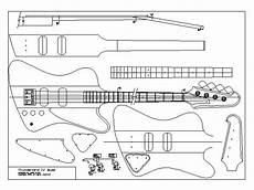 sawood guitar plans blueprints