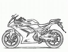 free printable motorcycle coloring pages for with