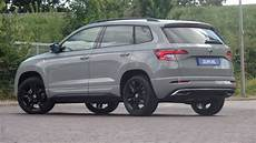 skoda new karoq sportline 2019 in 4k steel grey 18inch