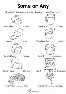 some or any worksheet grammar worksheets grammar