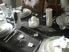 Decoration Table Nouvel An Gris