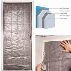 isoler une porte d entrée kit isolation porte de service 210 x 85 cm outillage et