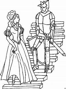 Ausmalbilder Prinzessin Und Ritter Ritter Mit Prinzessin Ausmalbild Malvorlage Phantasie