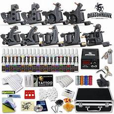 professional complete tattoo kit 9 top machine gun 40 ink
